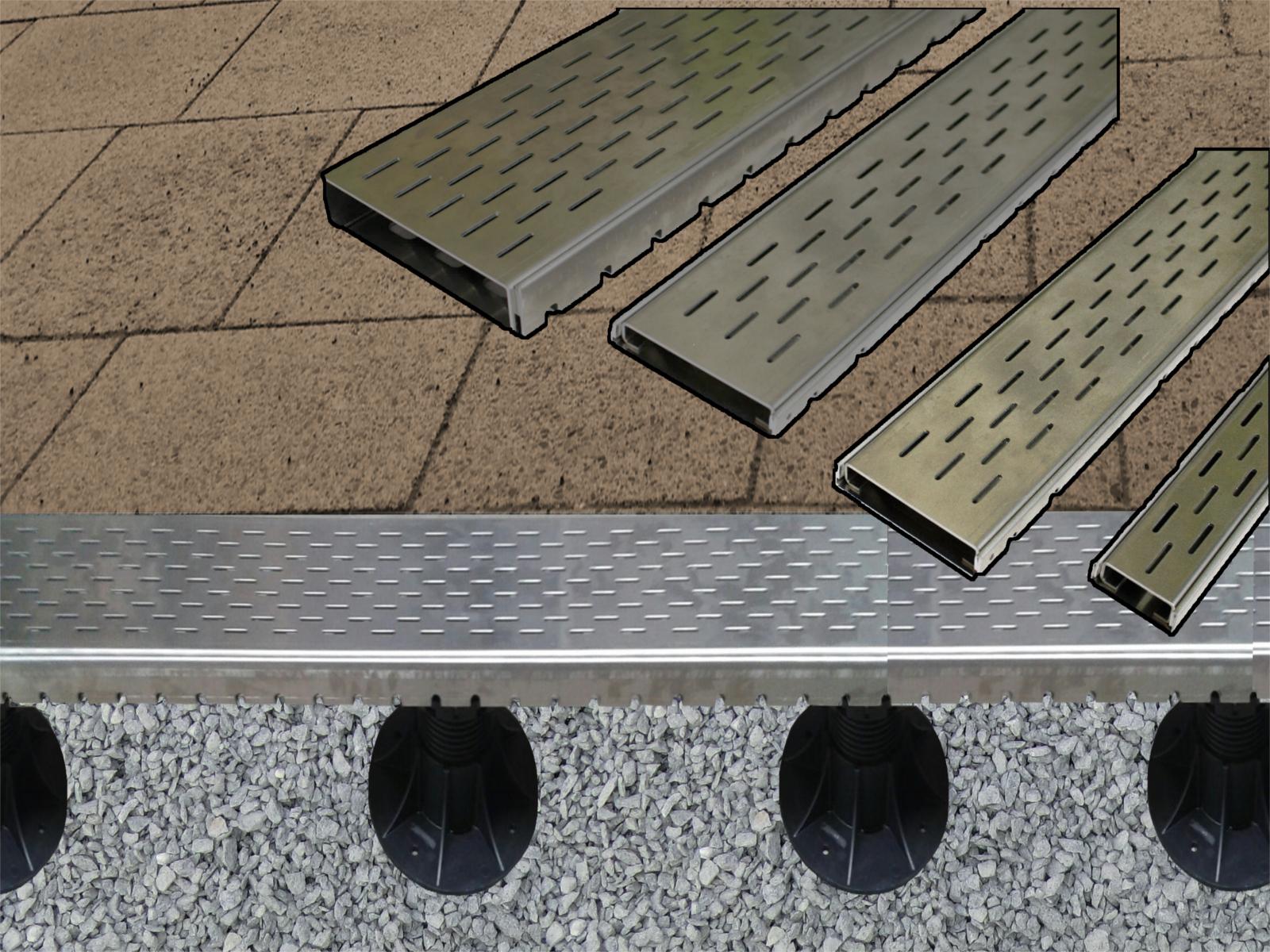 500 X Terrassenplatten Abstandshalter Nivilieren Verlegen Fugenkreuz
